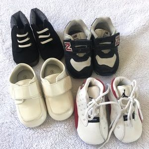 Baby shoes for boy.